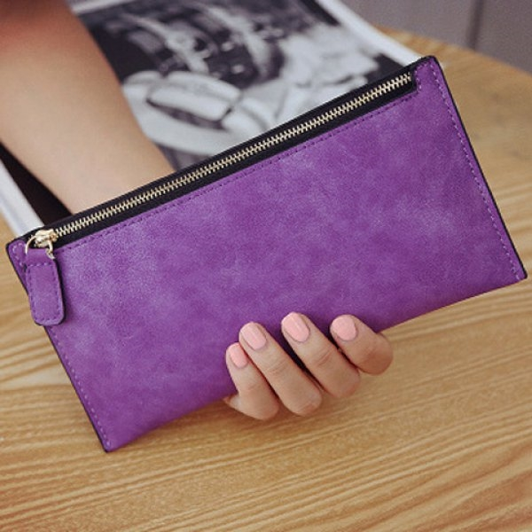 5.58$  Watch now - http://dilcy.justgood.pw/go.php?t=200531006 - Faux Leather Zip Up Coin Purse 5.58$