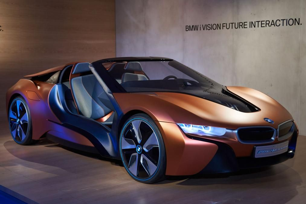 The Best New Cars By Bugatti Aston Martin And Ferrari In 2018: 2018 BMW I8 Roadster '' Cars Of 2018, 2018 Car Releases