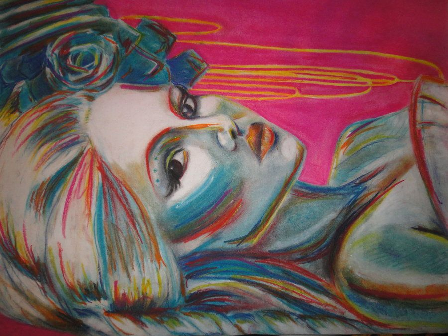 Pastel Chalk Drawings Kerli Koiv Chalk Pastel By