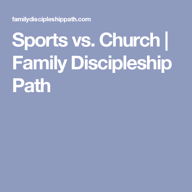 youth sports and christianity
