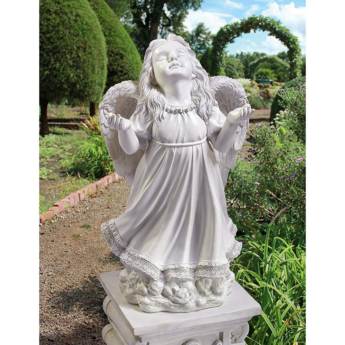 In God/'S Grace Guardian Angel Statue Angel Figurines Garden Angel Figure
