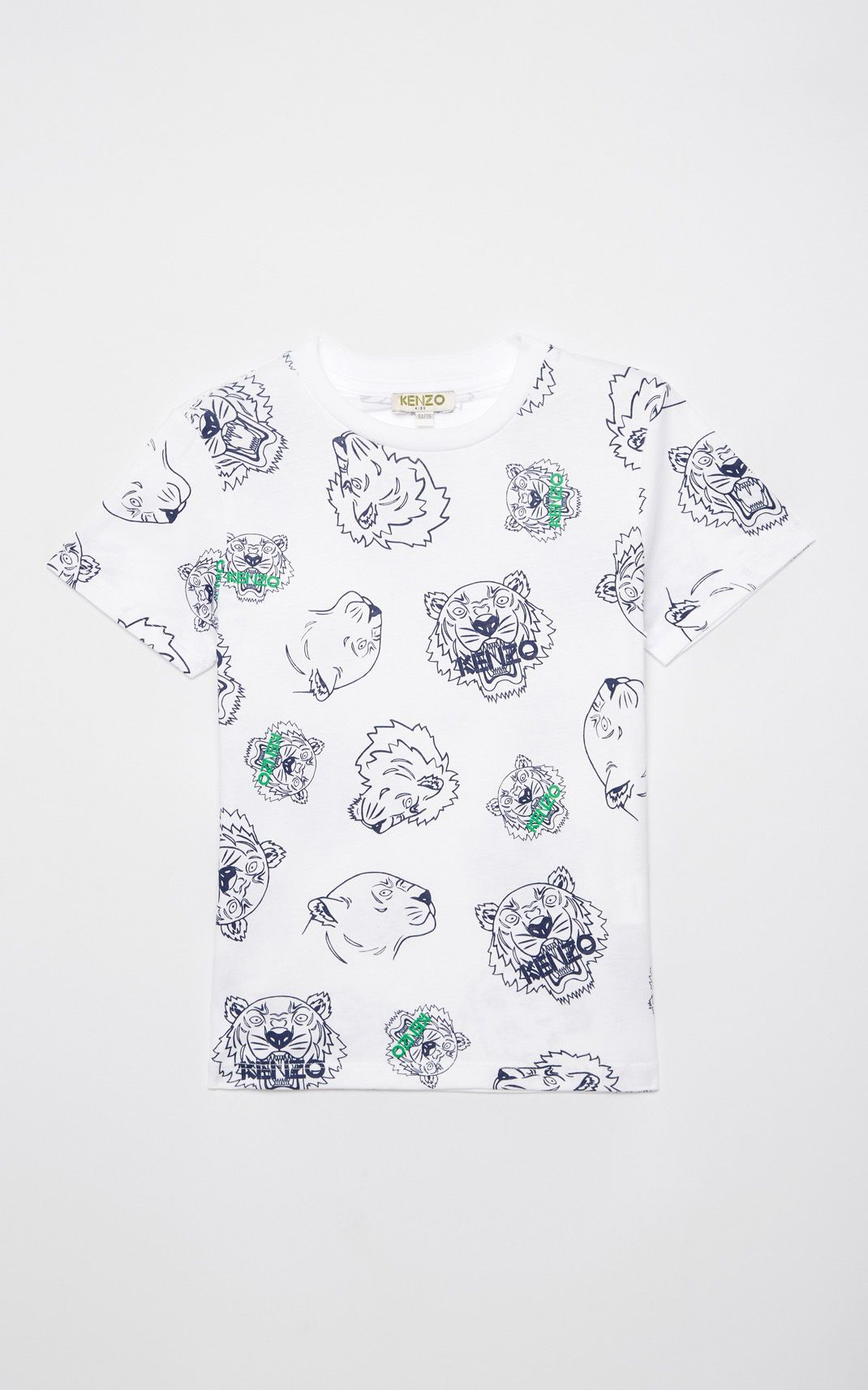 35e93dfb WHITE Multi-icon t-shirt for men KENZO | Kenzo Summer 18 | Pinterest ...