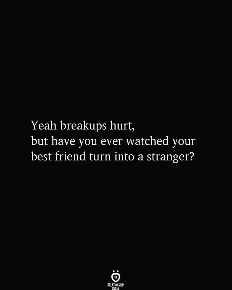 Yeah Breakups Burt, But Have You