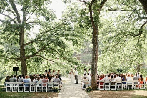 Pecan Grove At The Salt Lick Wedding Venue In Hill Country Texas