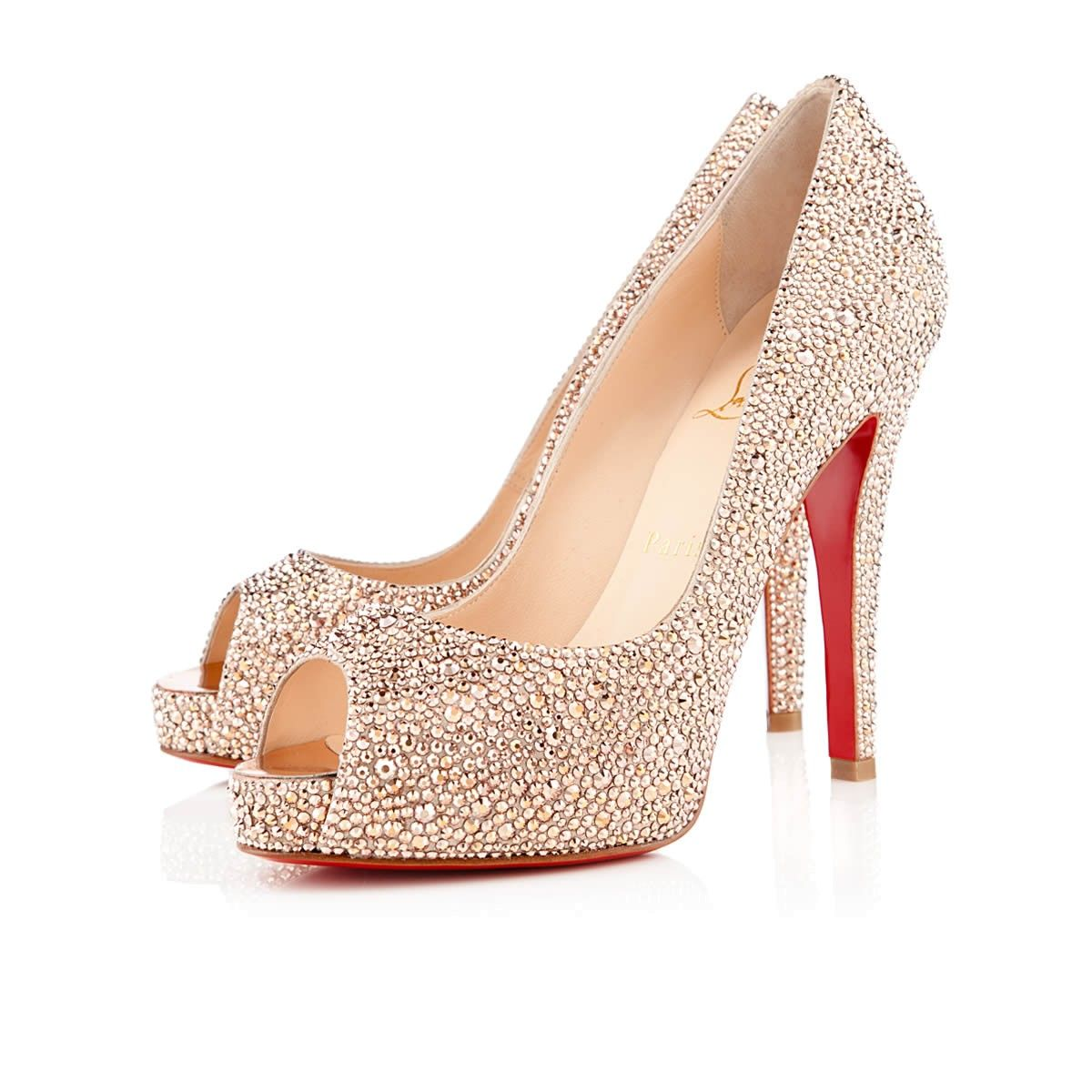 Shine Bright Like a Diamond - Very Riche Strass - Christian Louboutin #ShoeLove