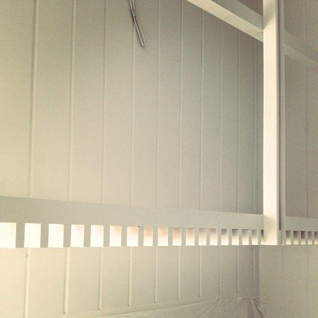 Utility rack detail #westendcottage
