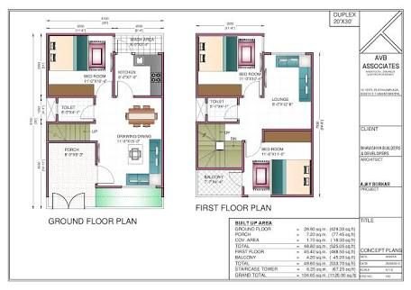 Image result for 600 sq ft duplex house plans | 20x30 ...