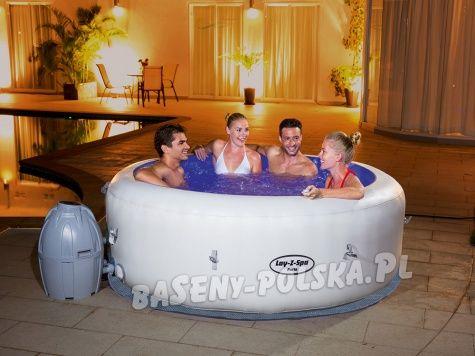 Dmuchane Spa Paris Z Masazem I Podgrzewaczem Wody Bestway Led Baseny Ogrodowe Intex I Bestway Inflatable Spas Spa Inflatable Hot Tubs