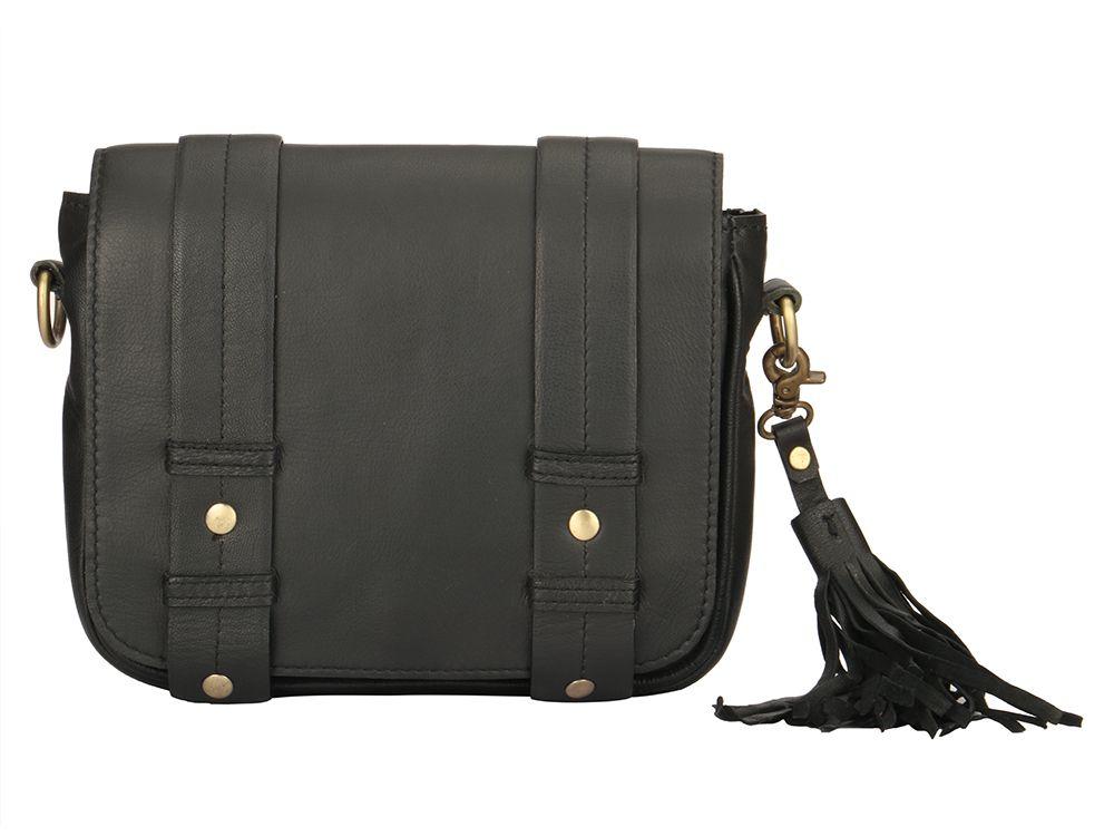 865c192d22d0 Olivenite Leather Tassel Bag  Ekatrra  Accessories  Clutch  Fancy ...