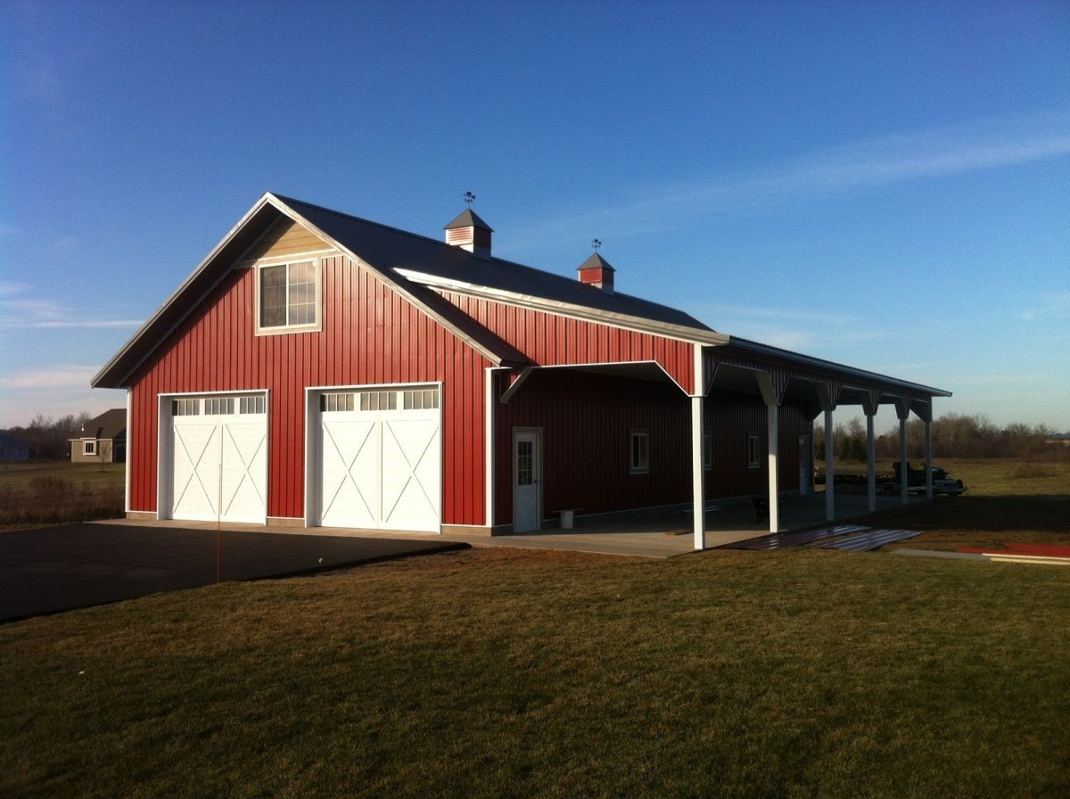 Shops/Storage - Pictures - Building quality pole barns ...