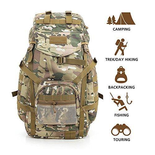 d7033fadd Comprar Ofertas de Hisea Mochilas Militares al aire libre Senderismo  Mochila de tela de Nylon Pack de Asalto Táctico Impermeable Bolsa de Viaje  barato.