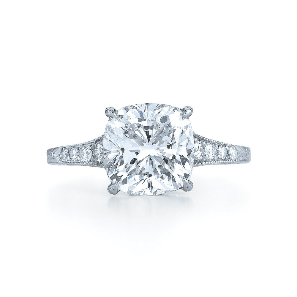 Find This Pin And More On Rings Cushion Diamond