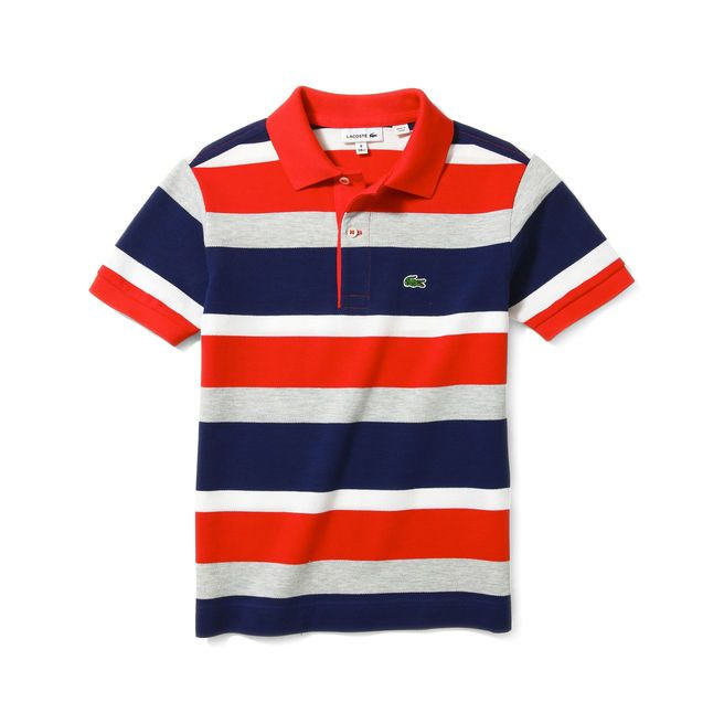 af8c6b7c75 Polo Lacoste à rayures multicolores - 0 | LACOSTE | Polo lacoste ...