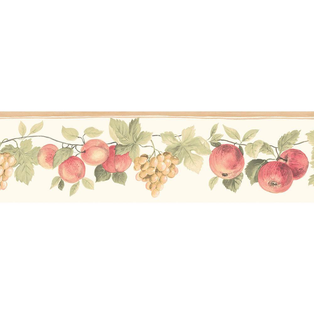 FRUITS Wallpaper Border GH74101B Die cut KITCHEN