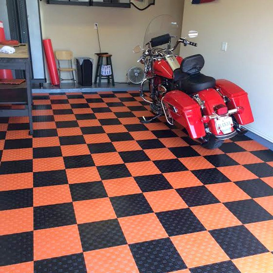 Garage Floor Snap Together Tiles