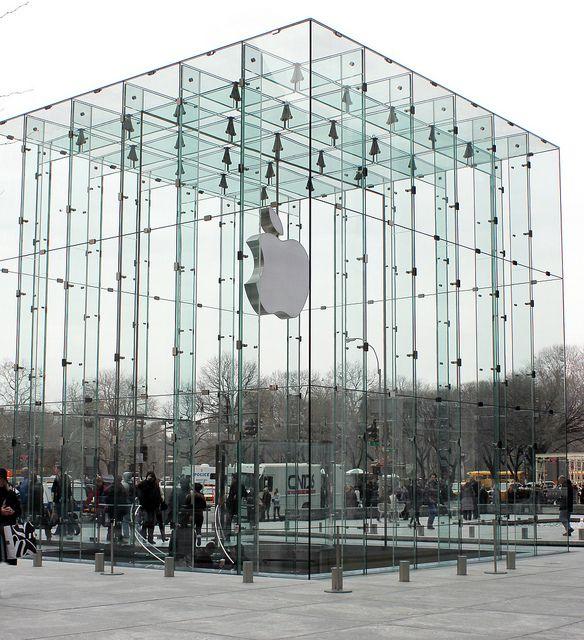 Apple Store Fifth Avenue New York Apple Store Design Apple Store New York