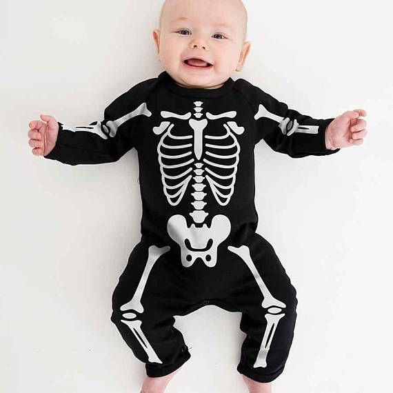 Newborn Boy Girl Infant Toddler Halloween Romper Playsuit Cotton Outfits Costume