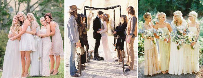 Свадьба в стиле Бохо шик - идеи оформления, одежда жениха ...