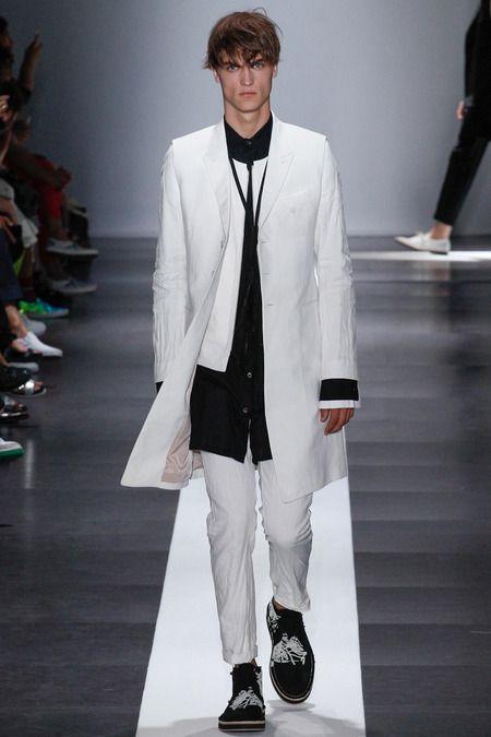 Farb-und Stilberatung mit www.farben-reich.com - Ann Demeulemeester | Spring 2015 Menswear Collection | Style.com
