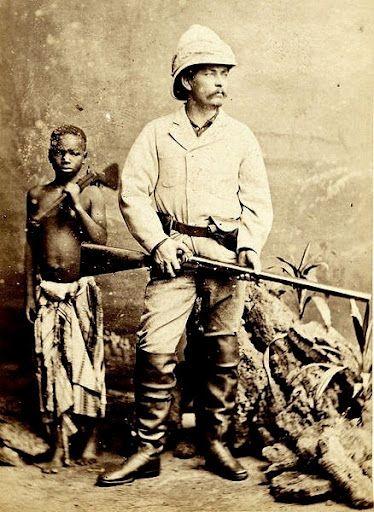 Dr Livingstone, I presume?\