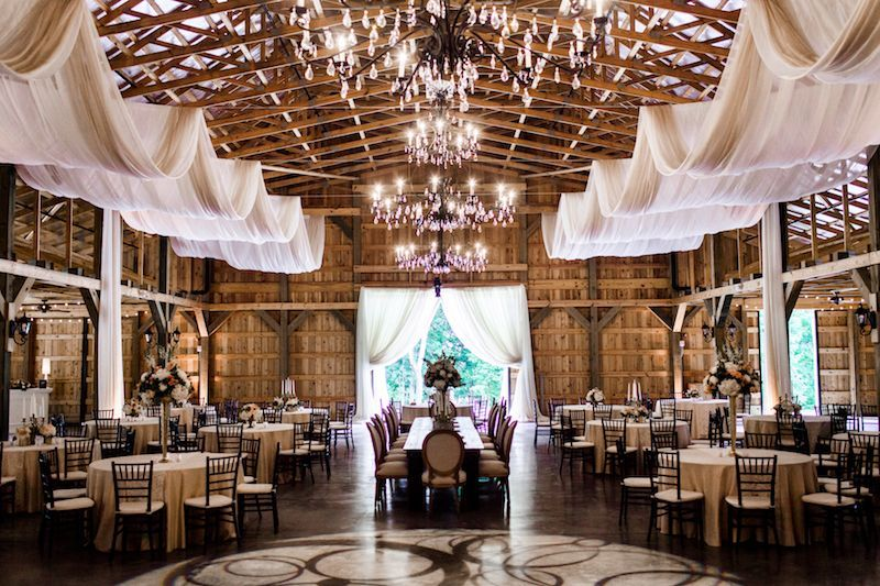 test via Nashville Bride Guide Barn wedding reception