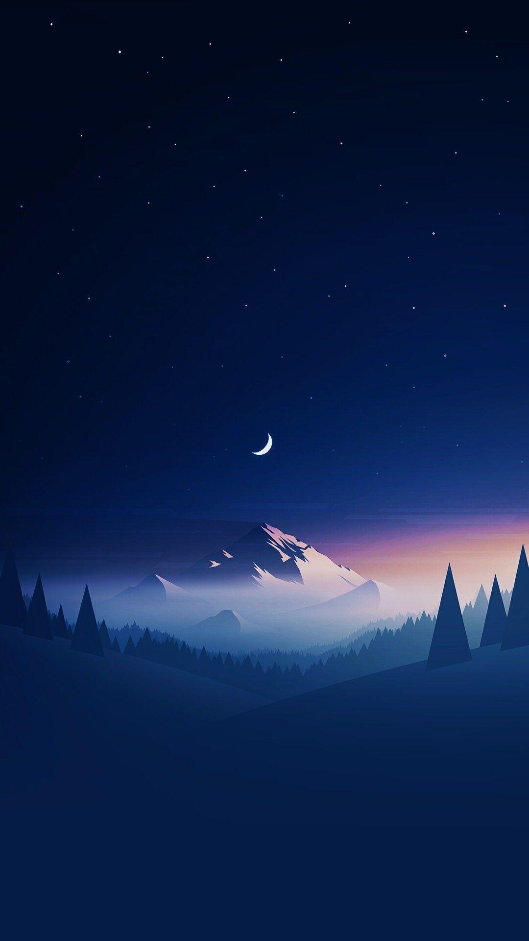 #Night #mood #wallpaper #fantasy ~Veer in 2020   Mkbhd ...
