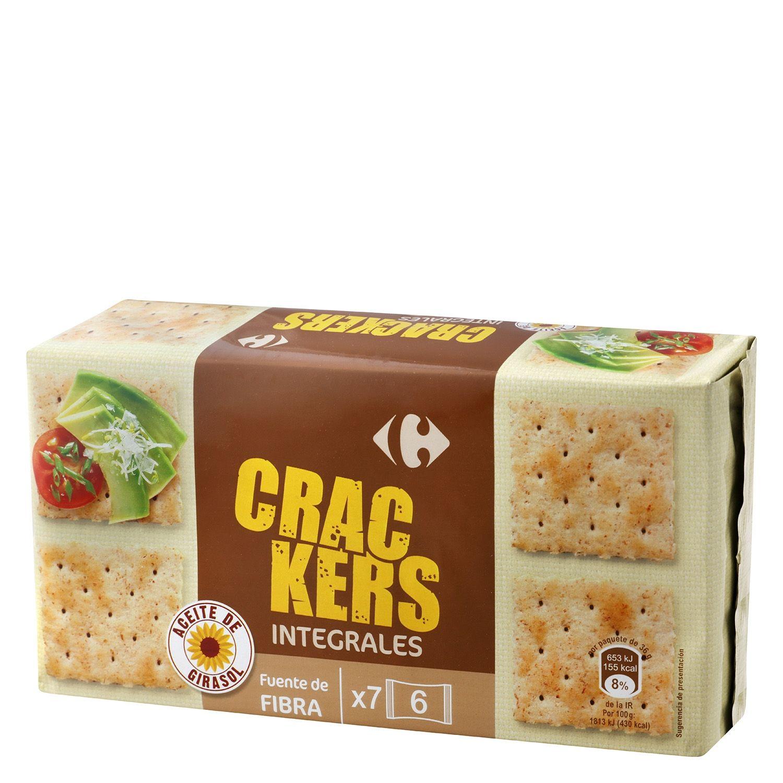 Crackers Integrales Dulces Y Golosinas Helados