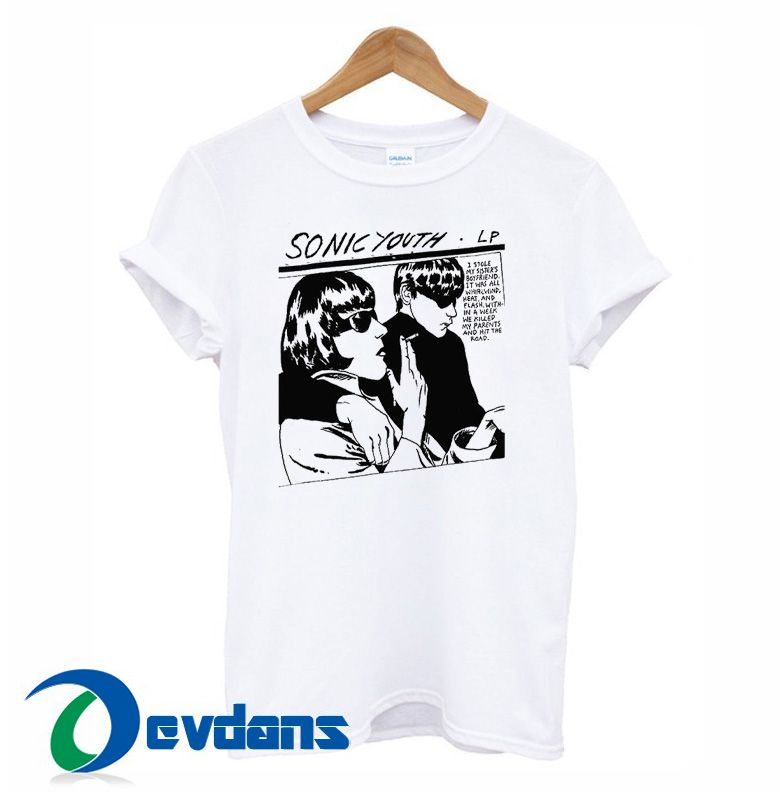 6a3162674514 Cool Sonic Youth Goo Cartoon Fiction T Shirt Women And Men Size S To 3XL #