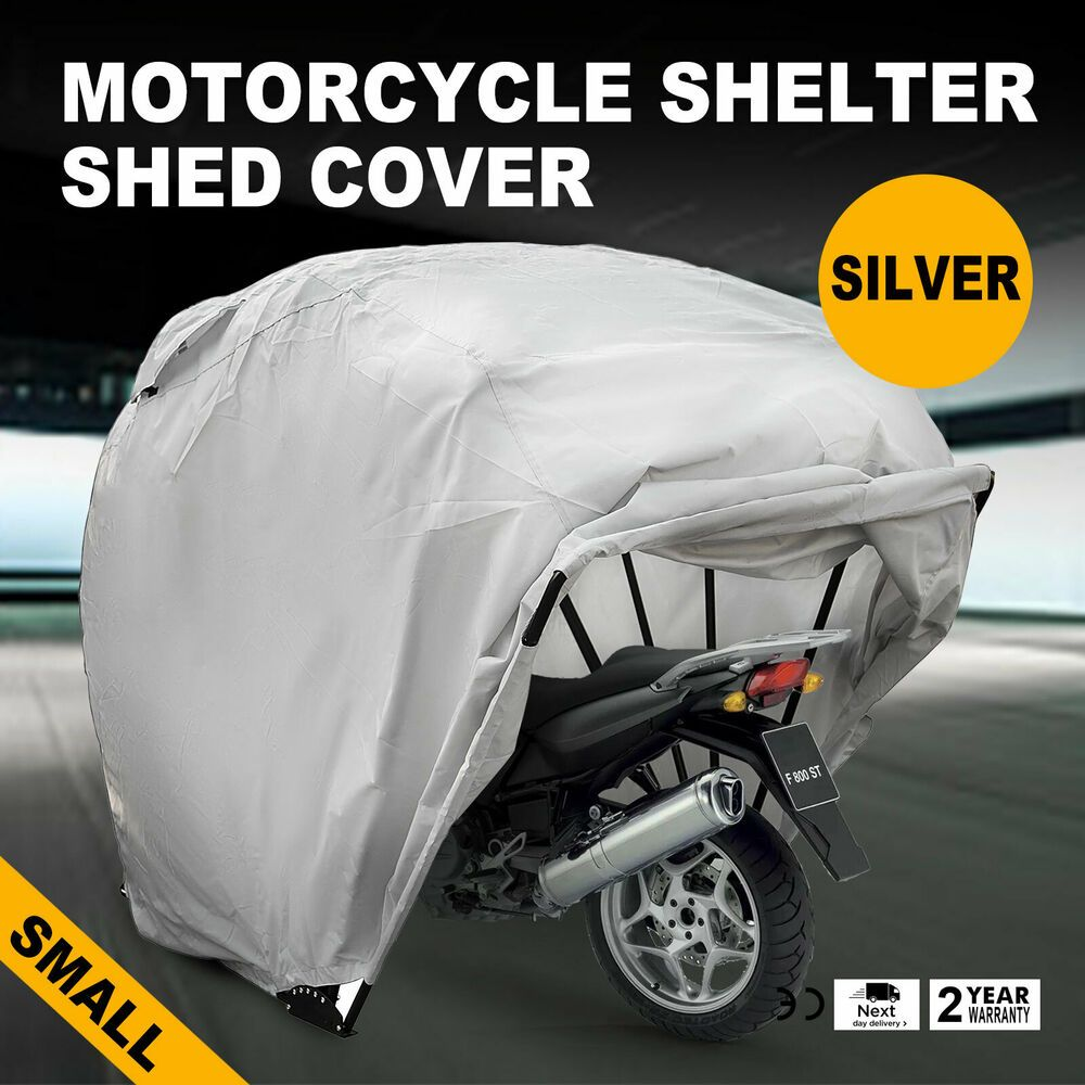 Cover The Bike Shield Junior Tent Storage Garage Motorcycle Shelter Small