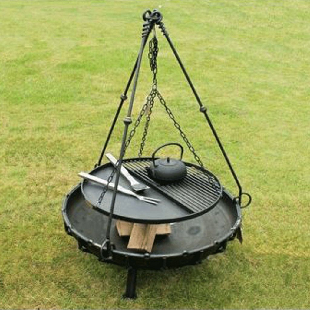 Tripod Cooking Rack For Bell Fire Pits A Bell Fire Pits Fire Pit Grill Fire Pit Bbq Fire Pit Cooking