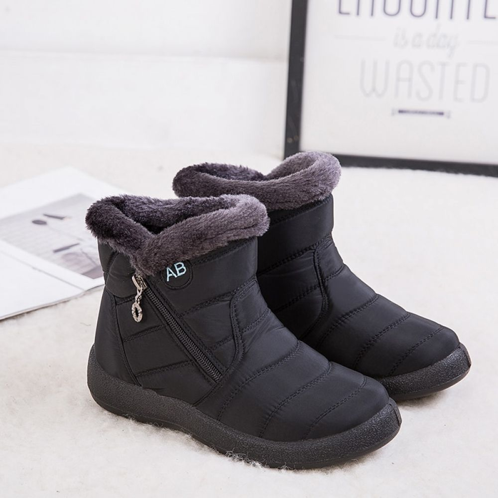 Women Boots Waterproof Snow Boots Female Plush Winter Boots Women Warm Ankle Botas Mujer Winter Shoes Woman Plus Size 43 Winter Boots Women Winter Shoes For Women Womens Boots