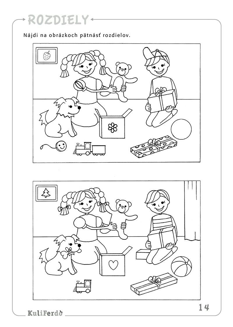 Najdi Rozdily Math Activities Preschool Kids Learning Activities Preschool Activities [ 1124 x 800 Pixel ]