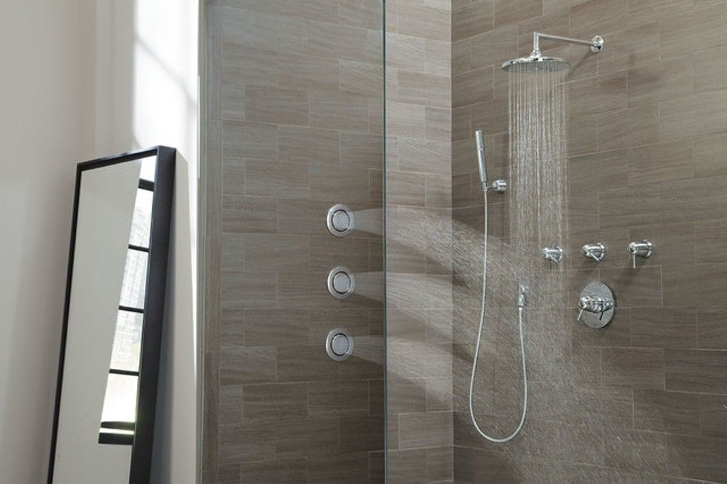 Kohler Shower Head And Body Spray Tub And Shower Faucets Modern