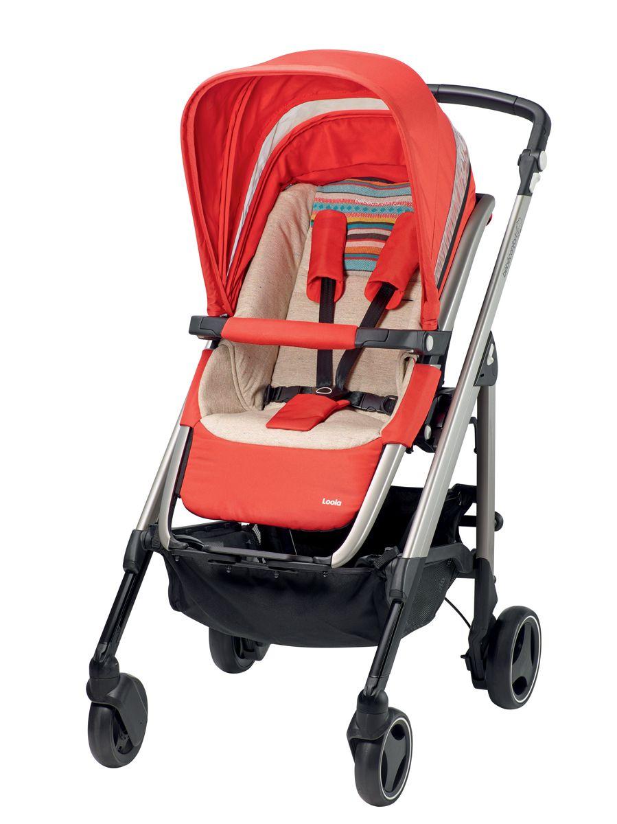 poussette nouvelle loola bebe confort folkloric red. Black Bedroom Furniture Sets. Home Design Ideas