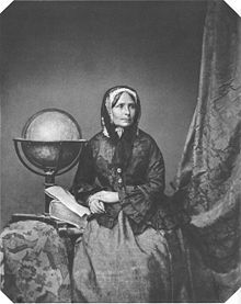 Ida Pfeiffer (1797-1858), Austrian explorer and author; within 16 years she travelled 19,996 miles (32,180 km) and 150,000 nautical miles, circling the world twice