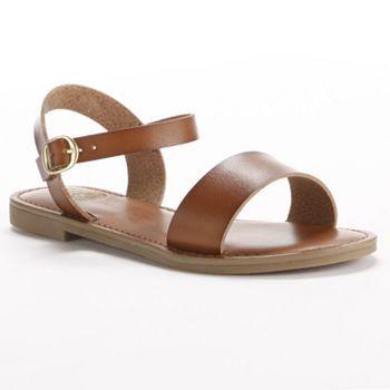 SO Banded Flat Sandals - Women #kohls