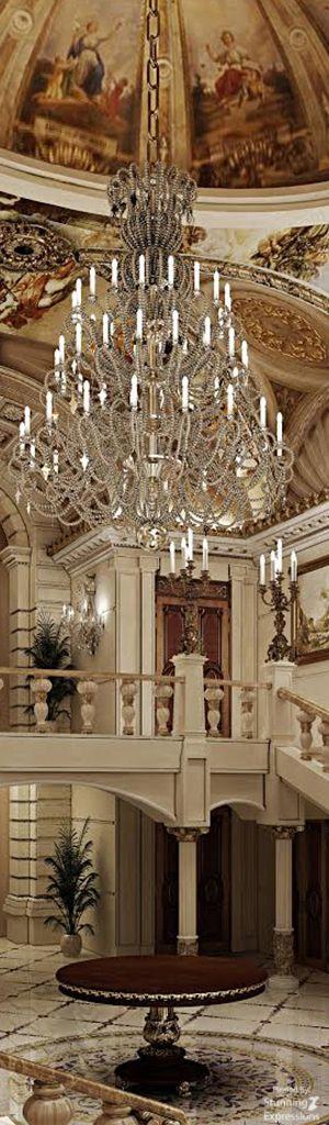 Foyer Decor Uae : Luxury foyer stairway hallway design pinterest