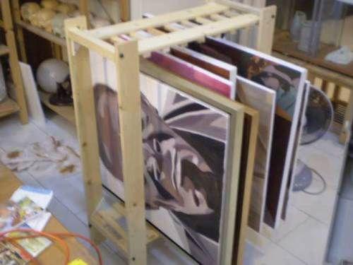 wetcanvas art storage diy painting