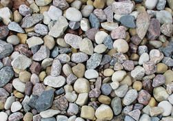 River Rock From Menards 1 89 Diy Garden Decor Diy Garden Garden Decor