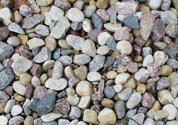 River Rock From Menards 1 89 Diy Garden Decor Diy Garden Garden Decor