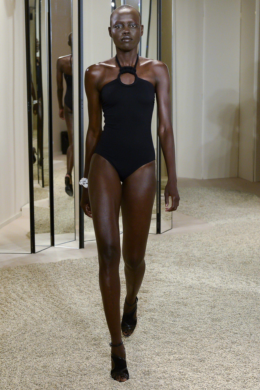 fbb83fc9ff2d5 Hermès Resort 2018 Fashion Show - Grace Bol (OUI) Swimwear Fashion, Bikini  Fashion