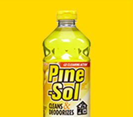 Lemon Fresh Scented Cleaning Products Pine Sol Citrus Cleaner