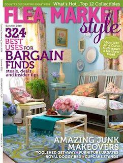 Flea Market Style~my FAVORITE magazine | a few of my favorite things ...