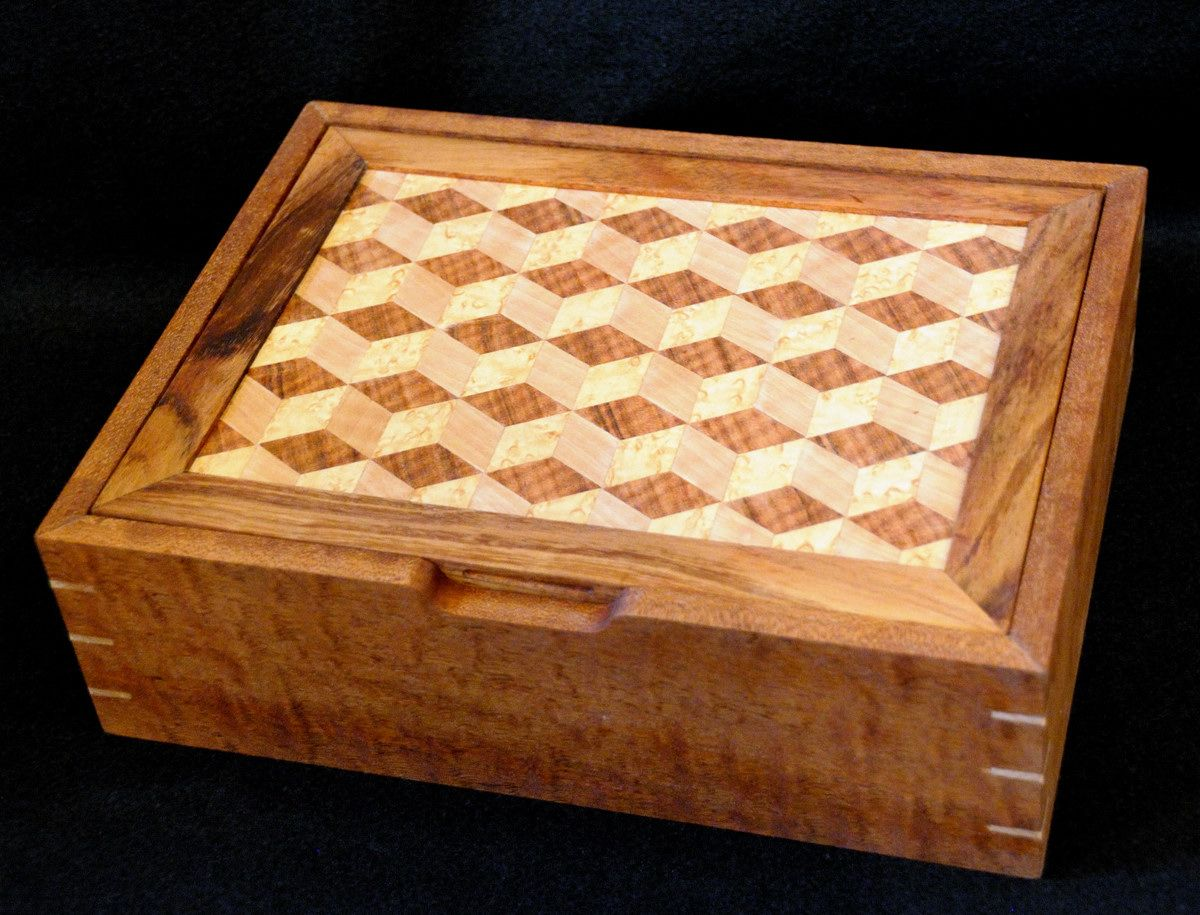 Marquetry Jewelry Box Readers Gallery Fine Woodworking