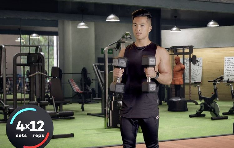 These Are The Best Exercises For Sculpting And Strengthening Your Arms Aol Fitness Motivation Body Step Workout Exercise