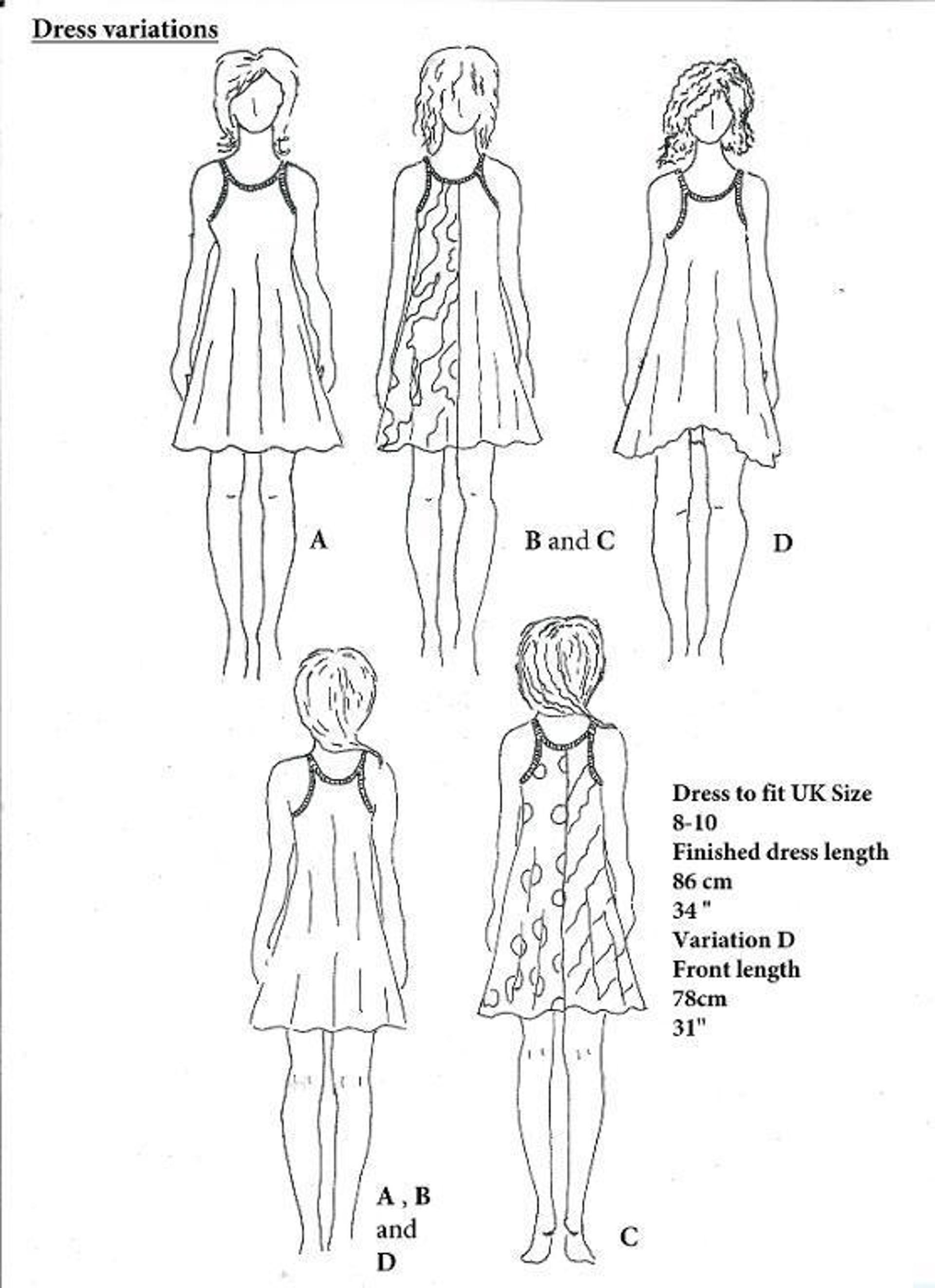 Festival Swing Dress | Craftsy | Sewing | Pinterest