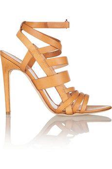 668221c4a Rupert Sanderson Tallyho matte-leather sandals | THE OUTNET | Wants ...