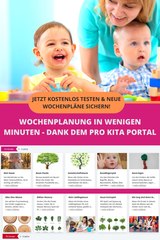 neue wochenpläne für ihre kita in 2020  kindererziehung