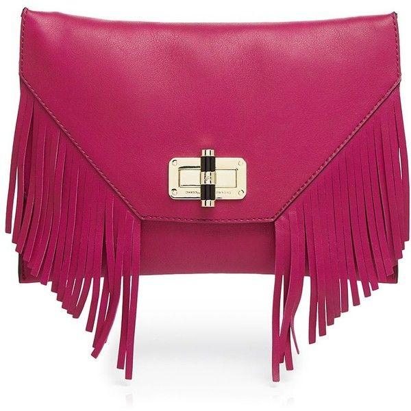 Diane von Furstenberg Clutch ($328) ❤ liked on Polyvore featuring bags, handbags, clutches, azalea, fringe clutches, diane von furstenberg handbags, purple handbags, diane von furstenberg clutches and fringe purse