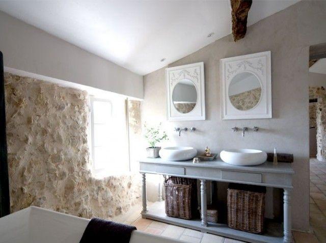 Boiserie Bagno Moderno : Boiserie c charme retro in bagno home and garden